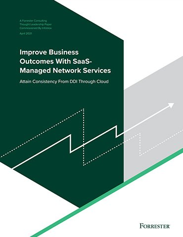 Forrester Consulting Study: Improve Business Outcomes With SaaS-Managed Network Services