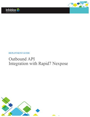 Outbound API Integration With Rapid7 Nexpose